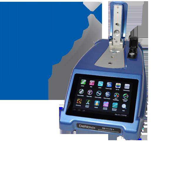 Спектрофотометр/флуориметр DeNovix
