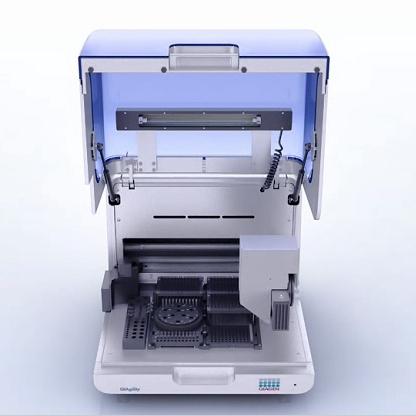 Автоматическая система дозирования жидкостей QIAgility с открытой крышкой, QIAGEN