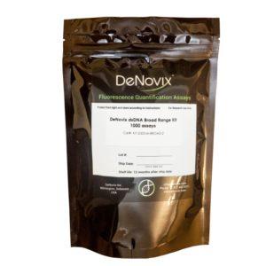 Набор реагентов Denovix dsDNA Broad Range Assay, 1000 реакций, DeNovix