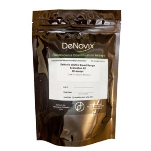 Набор реагентов Denovix dsDNA Broad Range Assay, 50 реакций, DeNovix