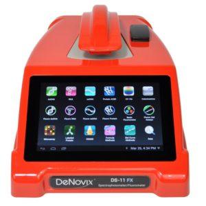Спектрофотометр/флуориметр DS-11 FX красный