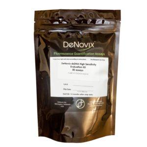 Набор реагентов Denovix dsDNA High Sensitivity Assay, 50 реакций, DeNovix