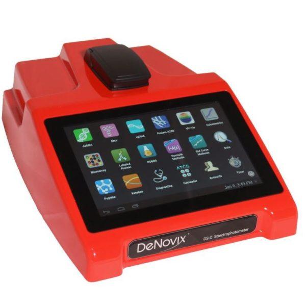 Спектрофотометр DS-C красный, кювета