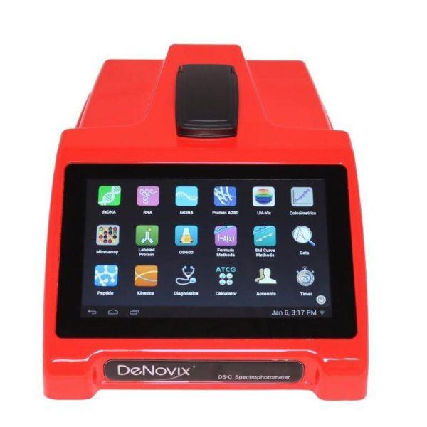 Спектрофотометр DS-C красный