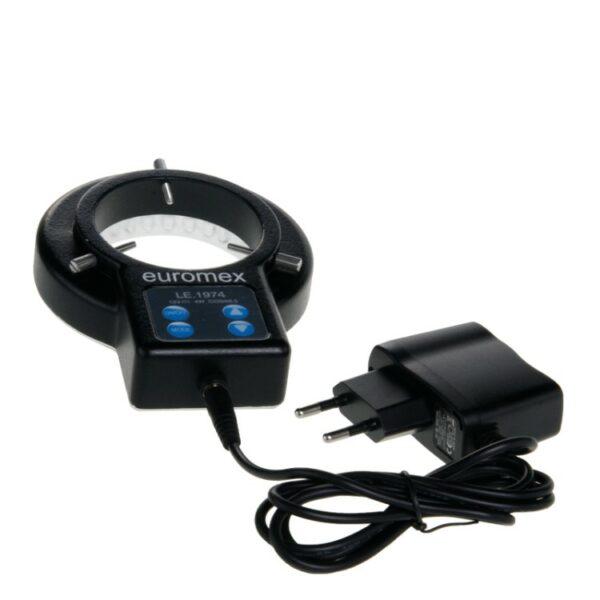 Компактный кольцевой светодиодный осветитель 72LEDs (LE.1974 Ring light source)